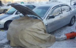 Отогрев легковых авто в Красноярске