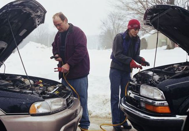 aku sarj - Как запустить дизельный двигатель в мороз?